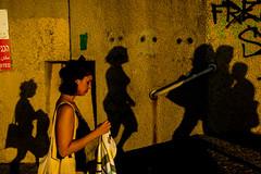 Among Shadows-DSC_6664 (thomschphotography3) Tags: telaviv israel beach shadows light colours colourful woman jaffa