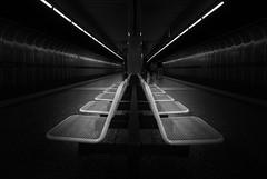 U6 - Westpark (antonkimpfbeck) Tags: ubahnu6u1 architektur ubahn westpark münchen fujifilm art