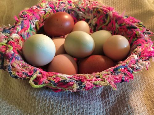 finished yarn bowl