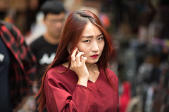 5F0A6779 (The Introvert Photographer) Tags: korea seoul portrait street asia people young asian fassion modern canon 135mm naturallight candid woman pretty attractive 5d south southkorea beautiful