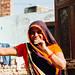 Woman in Sari, Mathura India