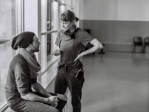 Chelsie Preston Crayford with Matt Whelan