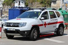 Cruz Roja (emergenciases) Tags: emergencias españa luarca valdés asturias dacia duster vir vehículodeintervenciónrápida cruzroja sanitarios urgencias coche vehículo