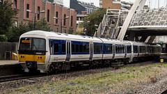 165004 (JOHN BRACE) Tags: 1990 brel york built class 165 dmu 165004 seen wembley stadium station chiltern trains blue livery