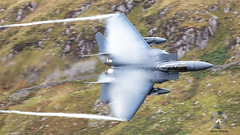 """492d Fighter Squadron """"Madhatters"""" (airpower) Tags: 492d fighter squadron madhatters 910317 united states us air force usaf mcdonnell douglas f15e strike eagle f15 lfa7 machloop mach wales northwales uk canon"""