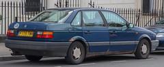 (237k miles) 1989 Volkswagen Passat CL 1.8 Rear (Vauxford2) Tags: 1989 volkswagen passat cl