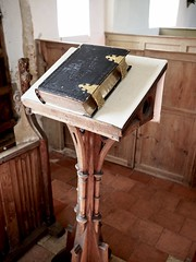 Lectern St Mary's Church Withersdale Suffolk (Simon Ross Photos) Tags: stmaryschurch withersdale suffolk churches olympus penf 2018