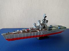 _20180910_154129 (Lego shipyard) Tags: lego cruiser ship carrier 1123 condor moskva moscow leningrad лего корабль крейсер вертолетоносец кондор москва ленинград