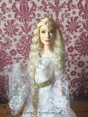 OOAK Galadriel doll (wildxwoman) Tags: galadriel lord rings hobbit cate blanchett lady tremaine cinderella mattel