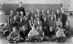 Class photo (theirhistory) Tags: boy children child kid girl school group class pupils students teacher jumper shirt trousers shoes wellies boots