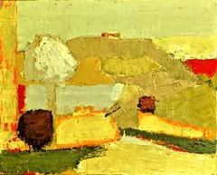 Paysage/Landscape (1953) - Nicolas de Stael (1914 - 1955) (pedrosimoes7) Tags: nicolasdestael arttate ✩ecoledesbeauxarts✩ artgalleryandmuseums shockofthenew