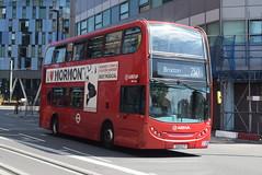 AL T24 @ West Croydon bus station (ianjpoole) Tags: arriva london alexander dennis enviro 400 324clt t24 working route 250 park street croydon brixton station