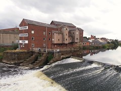 Allinsons Mill River Aire Castleford Yorkshire (woodytyke) Tags: woodytyke stephen woodcock photo photograph camera foto photography best picture composition digital phone colour flickr image photographer light publish print buy free licence book magazine website blog instagram facebook commercial