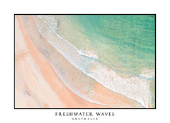 Freshwater beach waves (sugarbellaleah) Tags: freshwater beach waves sand seagulls seashore shore seaside seascape ocean water sandy sunlight surf northernbeaches colour abstract background tide shallows blue green yellow orange leisure recreation outdoor nature landscape newsouthwales australia au