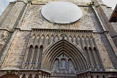 Rosassa en obres Santa Maria del Pi - Barcelona