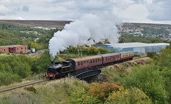 TVR no.85 at Blaenavon. 15/9/18 (Nick Wilcock) Tags: tvr taffvalerailway no85 062t class02 steam blaenavon pontypoolblaenavonrailway railways wales