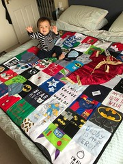 Personalised Gifts Ideas : Custom handmade Memory Quilts made using your loved ones precious clothing. Doub… (mygiftslist) Tags: gifts