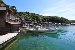 Waterfront houses (Teruhide Tomori) Tags: seasidehouse 伊根 舟屋 漁港 港町 funaya tradition 岬 海 丹後半島 tango kyoto boat countryside sea ine landscape japan japon 日本 construction house seaside water