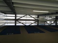 2018-08-FL-195721 (acme london) Tags: aldi carpark metalpipes mscp parking pipefacade precastconcrete signage splitlevel steelpipes steelstructure wiesbaden