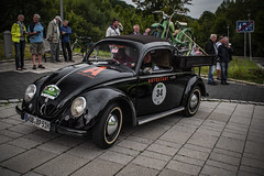 Saxony Classic 2018 (classic car rallye): Team car city - VW type 1 pickup 1951 (Peter's HDR hobby pictures) Tags: petershdrstudio saxonyclassic2018 classiccar classiccarrallye car vw vwbeetle vwkäfer auto oldtimer sachsenclassic2018