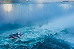 Into the Mist (mjhedge) Tags: waterfall water niagarafalls ontario blue mist falls oly olympus getolympus omdem1mkii omd em1mkiiomdem1markii 12100mmf4 12100mm
