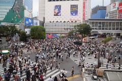 Pedestrian Scramble (Rekha Prasad) Tags: nikon d3300 dslr shibuya tokyo pedestrianscramble japan
