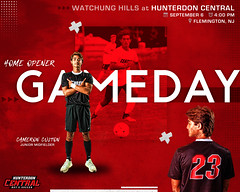 HC_WatchungHills_Gameday_Graphic_9_6_18 (Sideline Creative) Tags: graphicdesign capturingthemoment soccer footballedits footballdesign digitalart sportsedit sportsgraphics sportsedits socceredit socceredits poster sportsposters photoshop montage collage 1dx canon reddevildesignseries gameday
