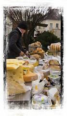 Cheese stall (Audrey A Jackson) Tags: canon60d salzburg austria cheese man stall