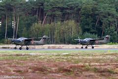 T-17, T-410 en T-409, Denemarken (Alfred Koning) Tags: belgianairforcedays2018 denemarken ebblkleinebrogel locatie t17 t17supporter t409 t410 vliegtuigen