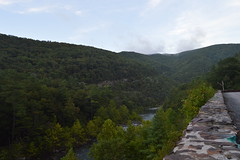Maury River (TheLilRubix) Tags: river bridge flowing mountain overlook virginia vdot beautiful 33 route cliff rapids nikon