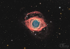 Helix Nebula - NGC 7293 (Delberson Tiago) Tags: astronomy astrophotography astrofoto astrofotografia astronomia astrophoto amateur apod nasa dso deepsky baader qhy qhy163m optolong oriontelescopes nightsky nebulae night nebulosa nebula nature universe universo helix helixnebula planetary astrometrydotnet:id=nova2806626 astrometrydotnet:status=solved