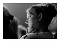 """""""Le Cirque Français"""" (The Blue Water Lily's Company) Tags: fdrouet nb bw monochrome monochrom portrait retrato circus cirque femme woman candid nikon d90"""