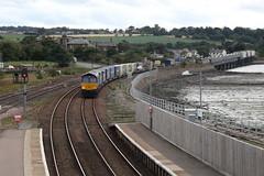 66301 Montrose, Scotland (Paul Emma) Tags: uk scotland angus montrose railway railroad dieseltrain train class66 66301 drs