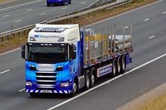 PO18 NPD (Martin's Online Photography) Tags: scania nextgeneration truck wagon lorry vehicle freight haulage commercial transport a1m wstransportation nikon nikond7200