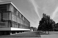 58076233 (felipe bosolito) Tags: bauhaus dessau gropius waltergropius blackandwhite fuji xt20 xf14f28 acros architecture modernarchitecture modern classic modernistarchitecture