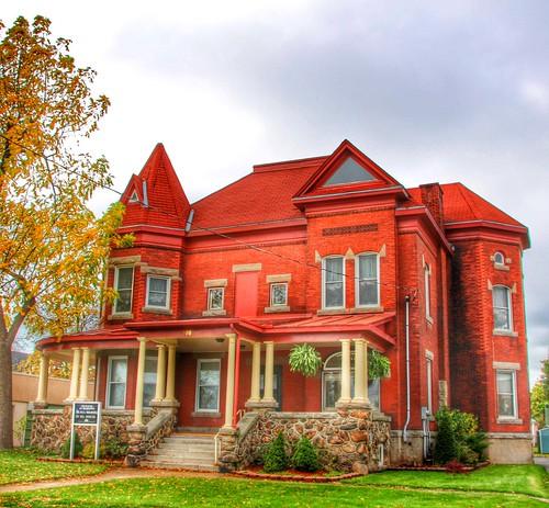 Port Colborne Ontario - Canada - Thomas Euphronius Reeb House - Heritage - 1907