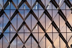 Diamonds (g.finzi) Tags: abstraction goldenhour pattern architecture reflection geelong building fujinonxf1855mm2840 fujifilmxt20