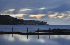 Boora Point Battery || Long Bay (David Marriott - Sydney) Tags: newsouthwales australia au boora point battery long bay malabar rock pool randwick golf course dawn sunrise reflection