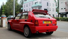 Lancia Delta HF Integrale Evoluzione (XBXG) Tags: 91615 lancia delta hf integrale evoluzione lanciadelta martinelli racing 16v red rood rouge hot hatch hatchback route darlon strassen luxembourg luxemburg lëtzebuerg letzebuerg youngtimer old classic italian car auto automobile voiture ancienne italienne italie italia italy vehicle outdoor