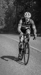Pedaling (nicolechamilton) Tags: bicycling bike bicycleracing bikeracking blackwhite bw britishcolumbia racing masters nikon exercise sport cervelo