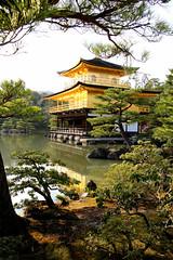 Kinkaku-ji (Temple of the Golden Pavilion) Kyoto, Japan (pkh100) Tags: japan golden lake kyoto kinkakuji