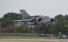46+40 LUFTWAFFE TORNADO ECR (Apple Bowl) Tags: 4640 panavia tornado ecr luftwaffe german air force raf coningsby tlg51 cobra warrior 2018 typhoon