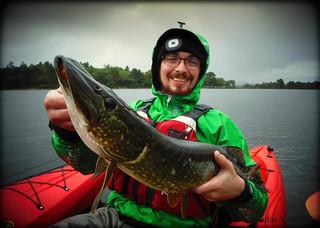 Kayak fish scotland