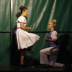 Kneeling (Sundornvic) Tags: dancing scottish beauly country couples dancers steps stage performance
