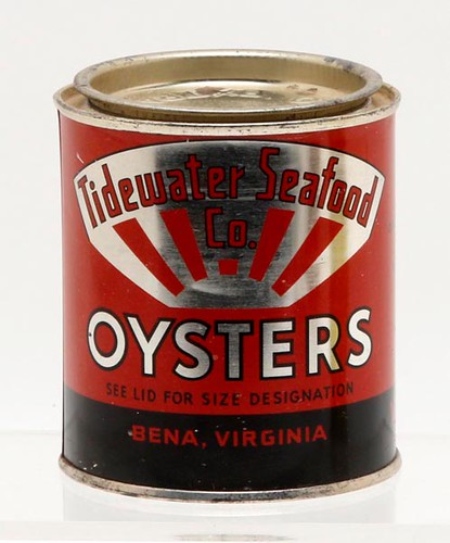 Tidewater Seafood oyster can ($313.60)