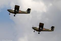 T-17, T-430 en T-432, Denemarken (Alfred Koning) Tags: belgianairforcedays2018 denemarken ebblkleinebrogel locatie t17 t17supporter t430 t432 vliegtuigen