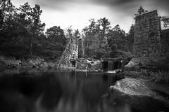 * (Johan Gustavsson) Tags: outdoor exploring sweden sverige falkenberg yngeredsforsen bw blackandwhite svartvit svartvitt vattenkraft johangustavsson