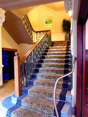 62 Castle Street Hotel, Liverpool, England (teresue) Tags: 2017 uk unitedkingdom greatbritain england merseyside liverpool castlestreet 62castlestreethotel stairs hotel