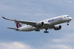 Qatar Airways (ab-planepictures) Tags: egll lhr qatar airways flugzeug flughafen london heathrow aircraft plane aviation airport planespotting airbus a350