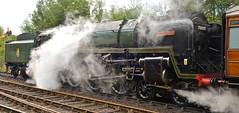 SEVERN VALLEY RAILWAY AUTUMN GALA (chris .p) Tags: nikon d610 view 70000 engine steam capture shropshire england autumn 2018 severnvalleyrailway gala train highley uk railway